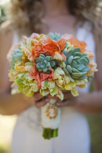bouquet com suculentas