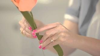 tulipas de papel