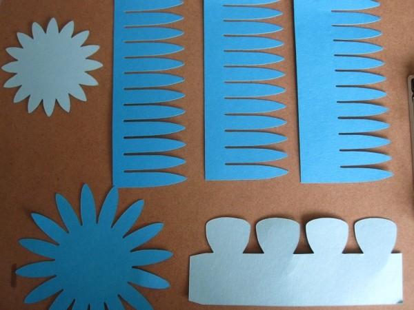 step_1 - proteas de papel-paper proteas