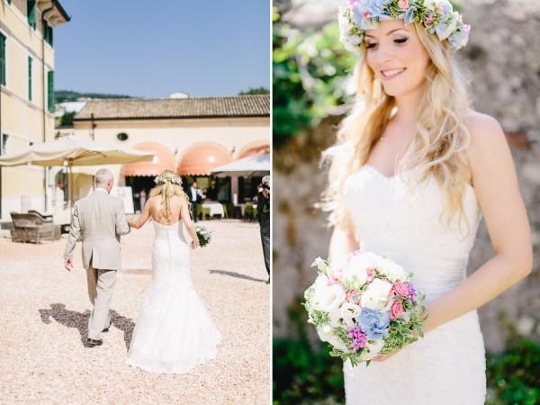 Carmen and Ingo Lago di Gardia wedding - Casamento -walking