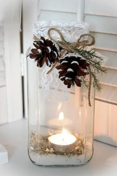 Winter wedding deco