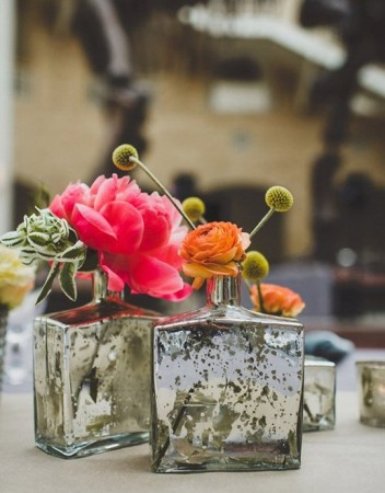 13 ideias para centros de mesa