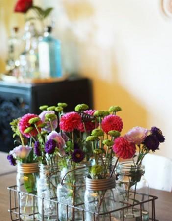 6 ideias para centros de mesa