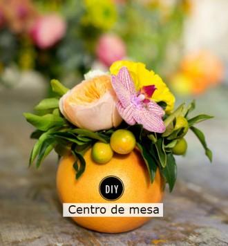 centro de mesa citrino