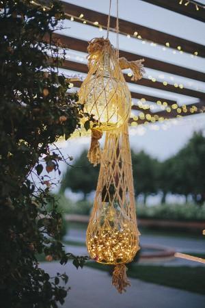 luzes para casamento ao ar livre outdoor wedding lights15
